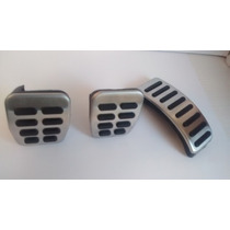 Kit Pedaleira Pedais Pedal Vw Audi Golf Gol Saveiro Fox Aço