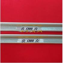 Soleira Estribo De Porta Em Aluminio Para Fusca 1300 Todos