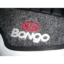 Tapete Carpete Kia Bongo 05/... Grafite Bordado Duplo