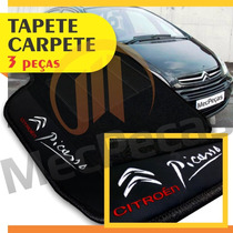 Tapete Carpete Personalizado Bordado Citroen Xsara Picasso
