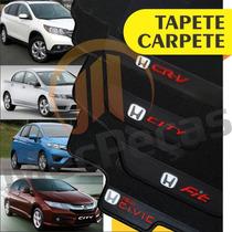 Tapete Carpete Personalizado Honda New Civic Fit City Cr-v
