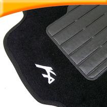 Tapete Carpete Novo Ford Ka 2015 Preto 3 Peças