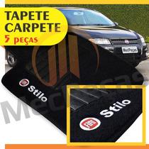 Tapete Carpete Bordado Com Logo Personalizado Stilo