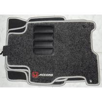 Jogo Tapete Carpete Base Borracha Honda Accord 2008 A 2013