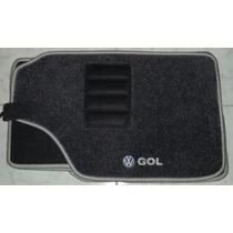 Jogo Tapete Carpete Base Borracha Vw Gol G2/ G3/ G4/ G5/ G6