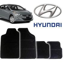 Tapete Borracha Pvc Hyundai Elantra 95 96 97 98 99 Novos 4pç