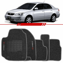 Tapete Carpete Corolla Grafite 2003 2004 2005 2006 2007 2008