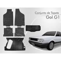 Tapete Gol G1 1980/1994 4 Peças+ Tunel+ Porta Malas Borcol