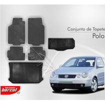 Tapete Polo Hatch 2002 A 2012 5 Pcs + Porta Malas Borcol