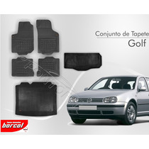 Tapete Golf 1992 A 2012 5 Pcs + Porta Malas Borracha Borcol