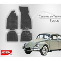 Tapete Fusca 1959 A 1996 Borcol Interlagos Borracha Preto
