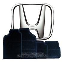 Tapete Honda Accord Sedan (novo) / Crv Em Borracha _(todos)