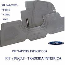 Tapete Ford Ecosport 2012-2015 - 3 Peças Traseira Interiça