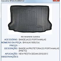 Tapete Bandeja Porta Malas Embor. New Fiesta Sedan Keko