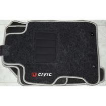 Jogo Tapete Carpete Resinado Honda New Civic 2007 A 2012