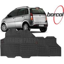 Tapete Borracha Fiat Idea 2005 A 2015 Borcol 4 Peças
