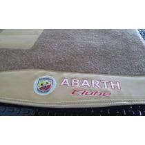 Tapetes Automotivos Abarth Clube P/ Palio - Punto - Fiat 500