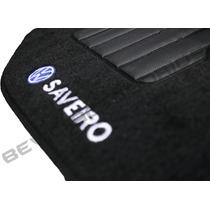 Tapete Saveiro G5 Carpete Bordado