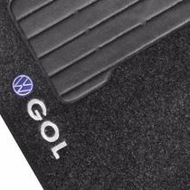 Tapete Automotivo Carpete Carro Gol G 6 Volks Bordado Jogo