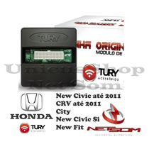 Modulo Levantador Vidro New Civic Fit City Crv Plug E Play