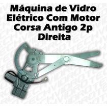 Máquina De Vidro Elétrico Com Motor Para Corsa Antigo 2p Dir