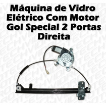 Máquina De Vidro Elétrico Com Motor Gol Special 2p Direita