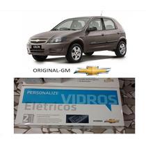 Kit Vidro Elétrico 4p Celta Diant-original Gm 2012-2014
