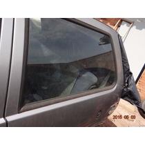Vidro Vigia Traseiro Esquerdo Fiat Uno 2 Portas