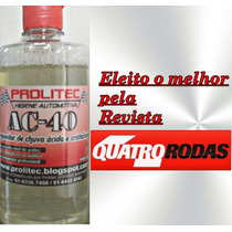 Removedor De Chuva Ácida 500 Ml Prolitec Gratis Resina Latex