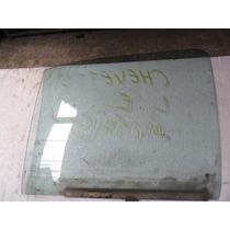 Vidro Porta Dianteira Esquerda Chevette 95 Original