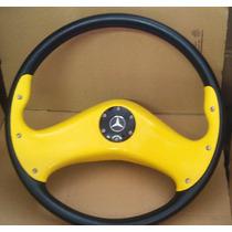 Volante Esportivo Mb 430mm 608 / 709 / 916 / 1620 / 1113
