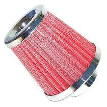 Filtro De Ar Esportivo Cônico Vermelho 62mm