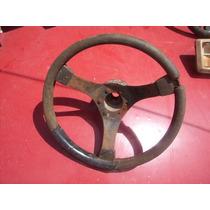 ## Volante 3 Raios Antigo P/ Carros Antigos Sport Fusca Tc