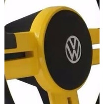 Volante Esportivo Rallye Amarelo Gol Passat Até 88 C/ Cubo