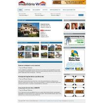 Imobiliária Virtual Versão 3.0 Com Mapas & Link Video Em Php