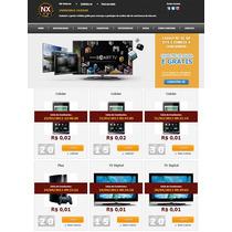Script Site Leilão Centavos Novo 2013