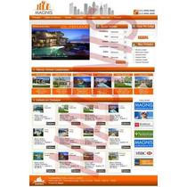 Site Sistema Imobiliária E Corretores - Script Php