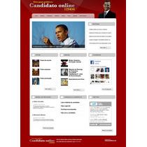 Site Politico Vereador Prefeito Senador Candidato Script
