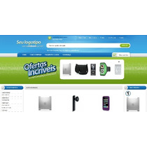 Loja Virtual Gold E-commerce + Chat + Carrossel + Banner