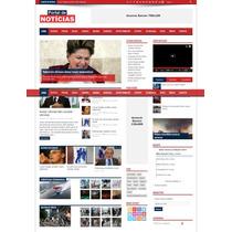 Portal De Baladas Noticias Eventos Script Php + Frete Gratis