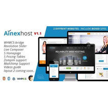 Tema Hospedagem Wordpress Ainex Host Whmcs Wordpress
