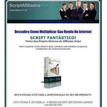 Script Programa De Afiliados Pro 3.0 + Vídeo De Instalação
