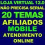 Script Grátis* - Loja Virtual Profissional 12.0 + Afiliados