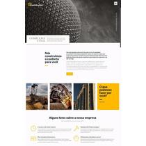 Site Responsivo Wordpress Para Empresa De Construção Civil