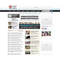 Script Portal Noticias, Site Revista E Jornal Administravel