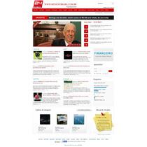 Script Php : Site Portal De Notícias E Guia Comercial, Admin