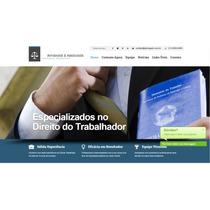 Site Para Escritório De Advocacia E Advogados - Completo
