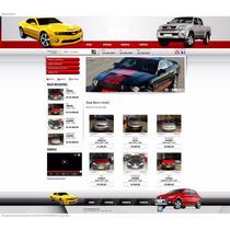 Site Php Script Revenda Veículos Automóveis Agência Carro