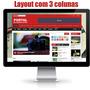 Site Para Jornal Online - Totalmente Responsivo - Compre Já!