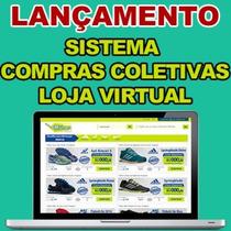 Sistema Compras Coletivas E Loja Virtual Profissional